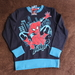 Pullover Spiderman 134 NEU